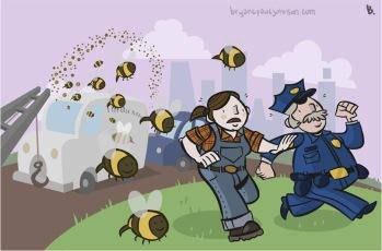 Runaway Bees