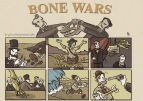 Illustrations from the game Bone Wars: The Game of Ruthless Paleontology