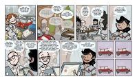 Didactic comic created for the University of Southern California's Mobile and Environmental Media Lab with Mini Cooper