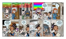 Didactic Comic created for the University of Southern California's Mobile and Environmental Media Lab