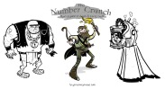 Monsters from The Number Crunch