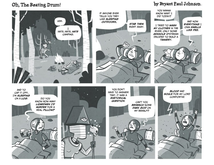Oh, The Beating Drum! #2, Page 1